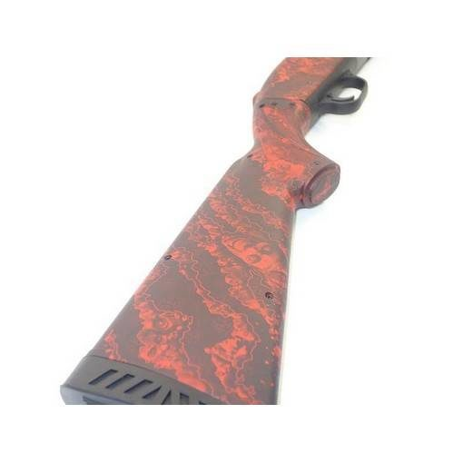 Fusil a pompe Red custom Zombie Airsoft