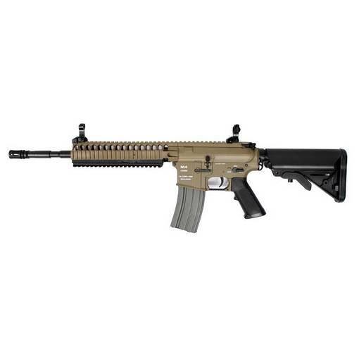 Fusil CA4A1 EC2 M4 Carbine RIS Dual Tone Complet AEG