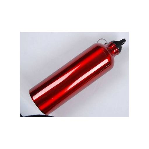 Gourde Airsoft 750ml alu rouge