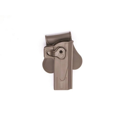 Holster Airsoft Hi-Capa FDE retention active