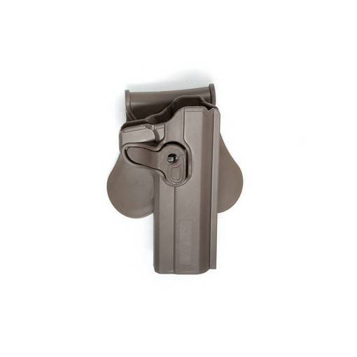 Holster Airsoft pistolets 1911 FDE retention active