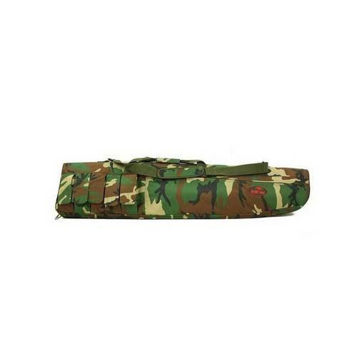 Housse réplique Airsoft camouflage 130cm 5 poches