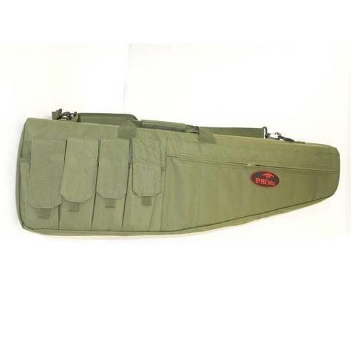 Housse réplique Airsoft vert 95cm 5 poches
