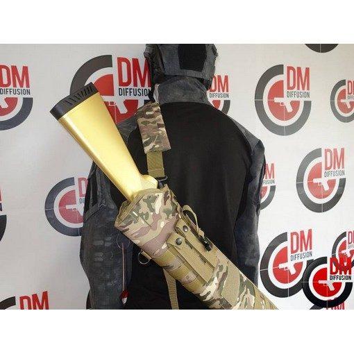Housse transport fusil à pompe Airsoft camouflage