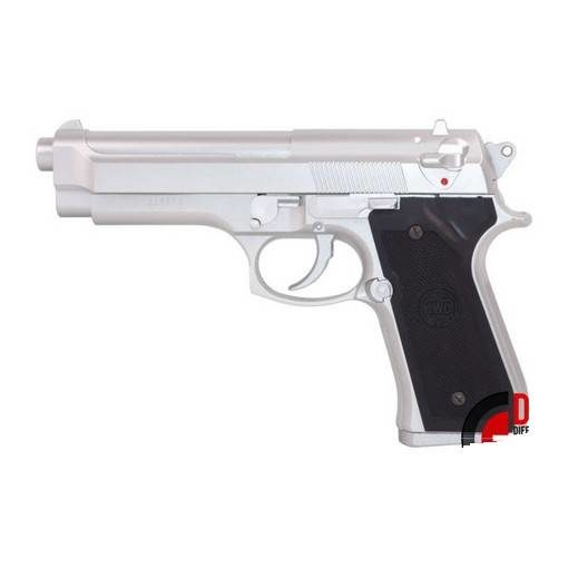 KWC M92 Airsoft Model Silver GBB