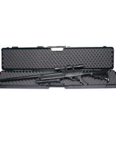 Mallette noire fusil airsoft 125cm