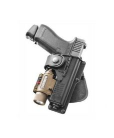 Paddle rotatif Glock 17 / 19 + lampe tactique