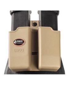 Paddle rotatif Glock 9mm Khaki 6900K RT Porte chargeur double