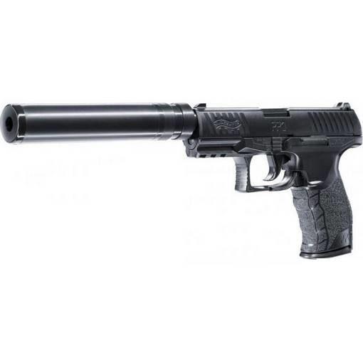Pistolet Walther PPQ Navy avec silencieux