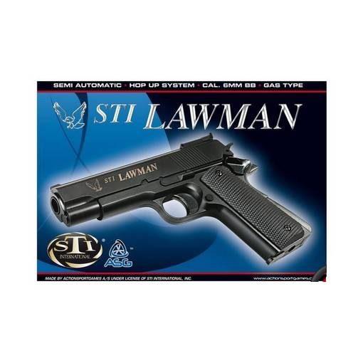 STI Lawman Airsoft Noir Gaz