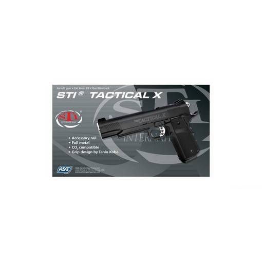 STI Tactical X MS Airsoft GBB Full métal