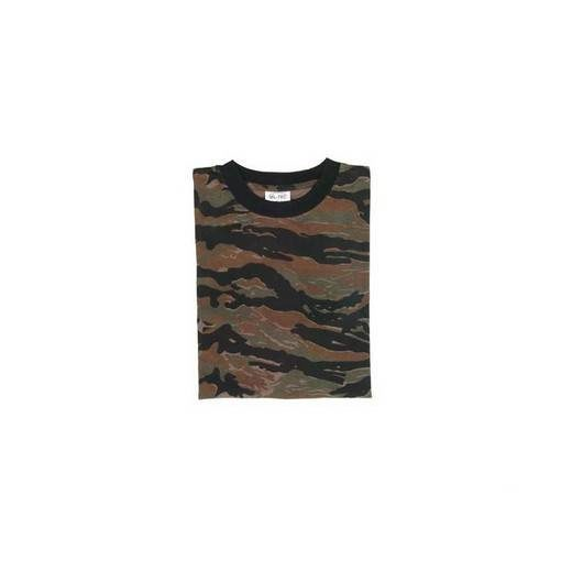 T-Shirt Airsoft camouflage Tiger stripe Taille L