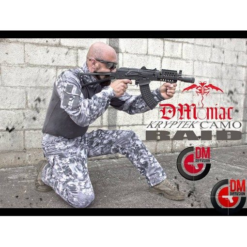 Tenue Airsoft Wolf Grey Kryptek Raid Taille S