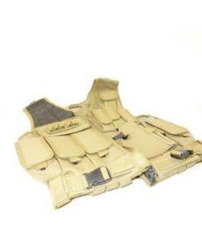 Veste tactique 8 poches holster + ceinturon