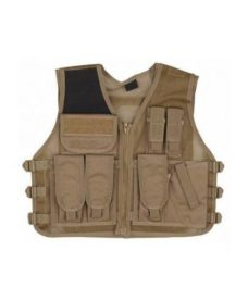 Veste tactique Airsoft Recon Tan
