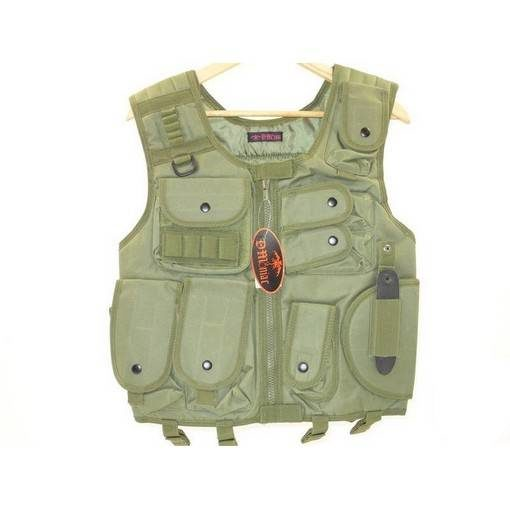 Veste tactique Airsoft SWAT OD
