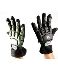 gants tactiques coque airsoft noir vert