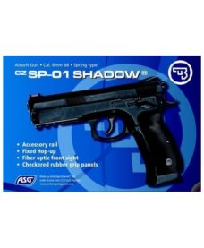 ASG CZ 75 SP-01 Shadow spring