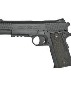Colt 1911 rail full metal noir Mat CO2 KWC