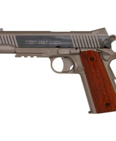 Colt 1911 rail full metal Stainles CO2 KWC