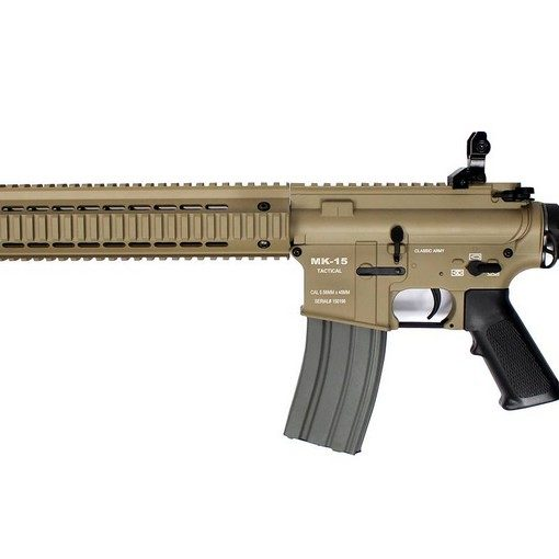 M4 MK-15 tan Full Métal AEG Classic Army