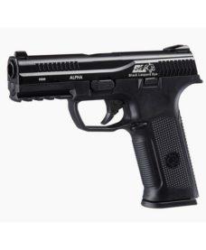 Pistolet GBB black léopard eyes alpha Noir ICS