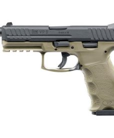 Pistolet H&K VP9 tactical GBB tan VFC