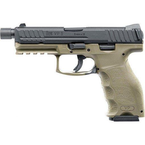 Pistolet H&K VP9 tactical GBB tan VFC