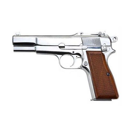 Pistolet WE Browning Hi Power Chrome GBB