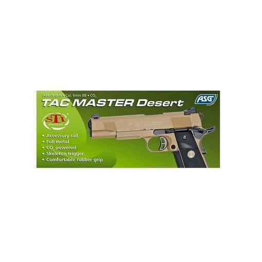 STI Tactical Master tan CO2 Blowback ASG