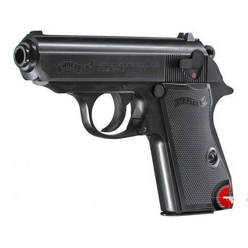 Walther PPK/S noir culasse Métal Spring