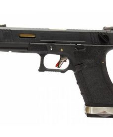 WE G18C Gforce T1 Noir Or Noir GBB