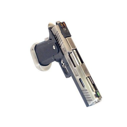 WE Hi-Capa 4.3 Silver Allosaurus GBB