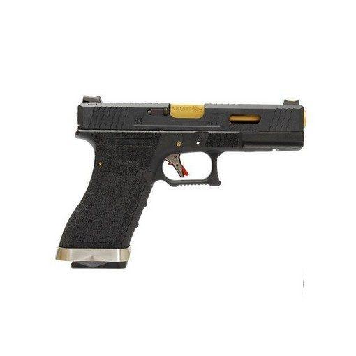 WE S17 G-Force T1 BK/Gold/BK GBB