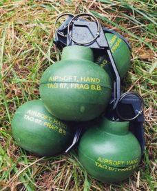 Grenades Airsoft TAG67 Taginn