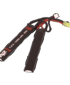 Batterie A2 Li-Po -7.4V 1200 mAh -25C - double Stick