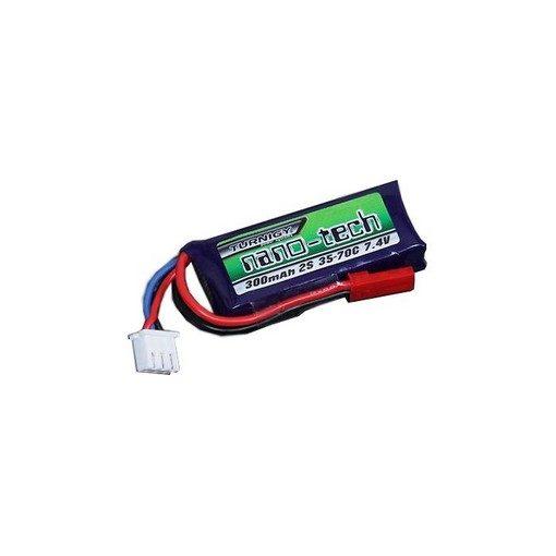 Batterie Gear Box SMP Wolverine Li-Po 7.4V 300 mAh 70C