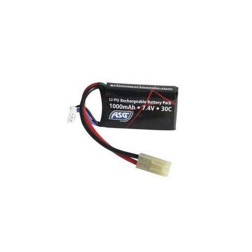 Batterie Li-Po 7.4V 1000mAh ASG