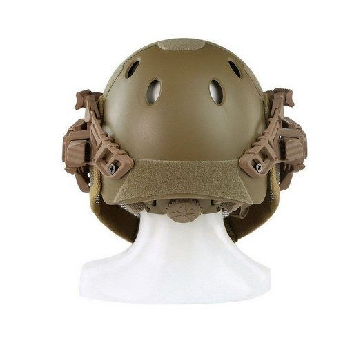 casque-airsoft-emerson-g4-pj-integral+grille-coyote