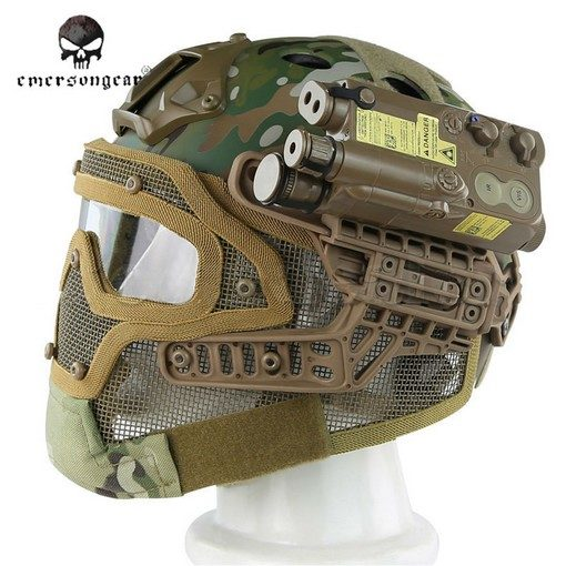 casque-airsoft-emerson-g4-pj-integral+grille-multicam-2