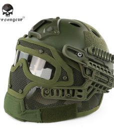 casque-airsoft-emerson-g4-pj-integral+grille-olive-3