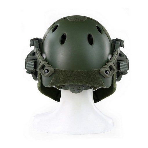 casque-airsoft-emerson-g4-pj-integral+grille-olive
