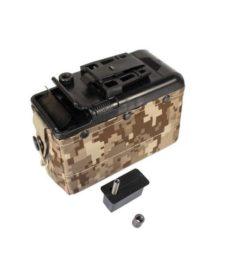 Chargeur Ammo box M249 LMG MK46 (1200 billes)