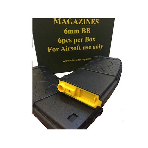 Chargeur M4 330 billes (x6) Classic Army