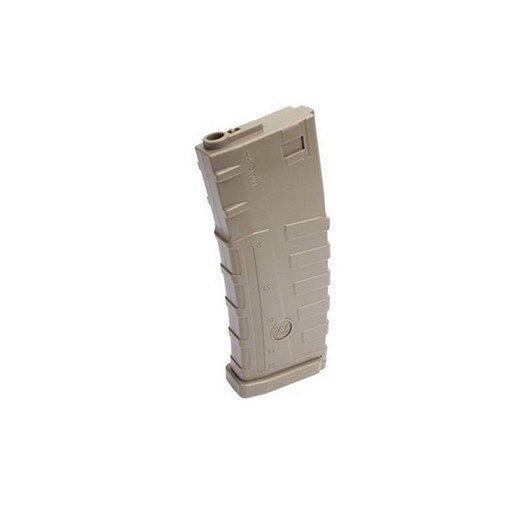 Chargeur SL M4 CAA AEG tan 140 billes
