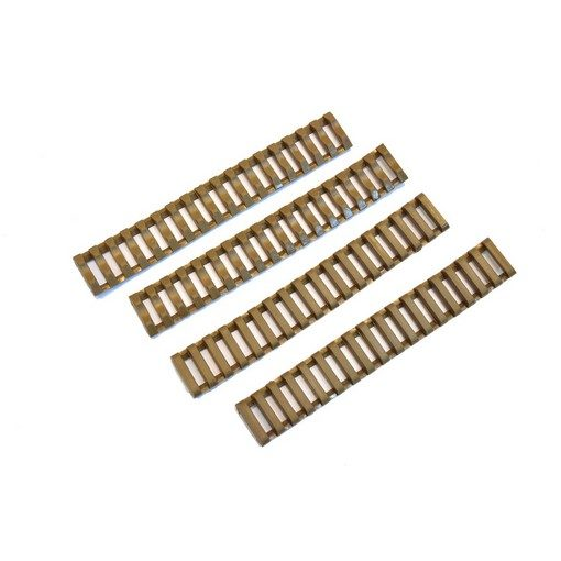 Couvre Rail Gomme Type Ladder x4 Tan