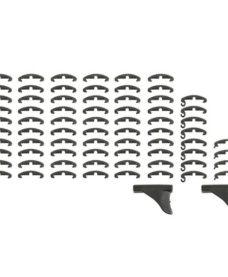 Couvre Rail RIS Type Larue - Noir