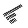 Couvre Rail Type Ladder Gomme x3 Noir