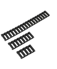 Couvre Rail Type Ladder Gomme x3 Noir