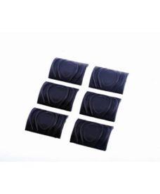 Couvres rails TDI Gomme x6 Noir